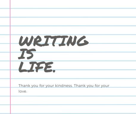 Dear Writers